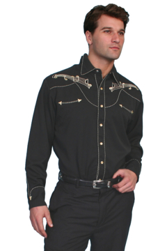 Scully Guitar Western Shirt - Product List Image