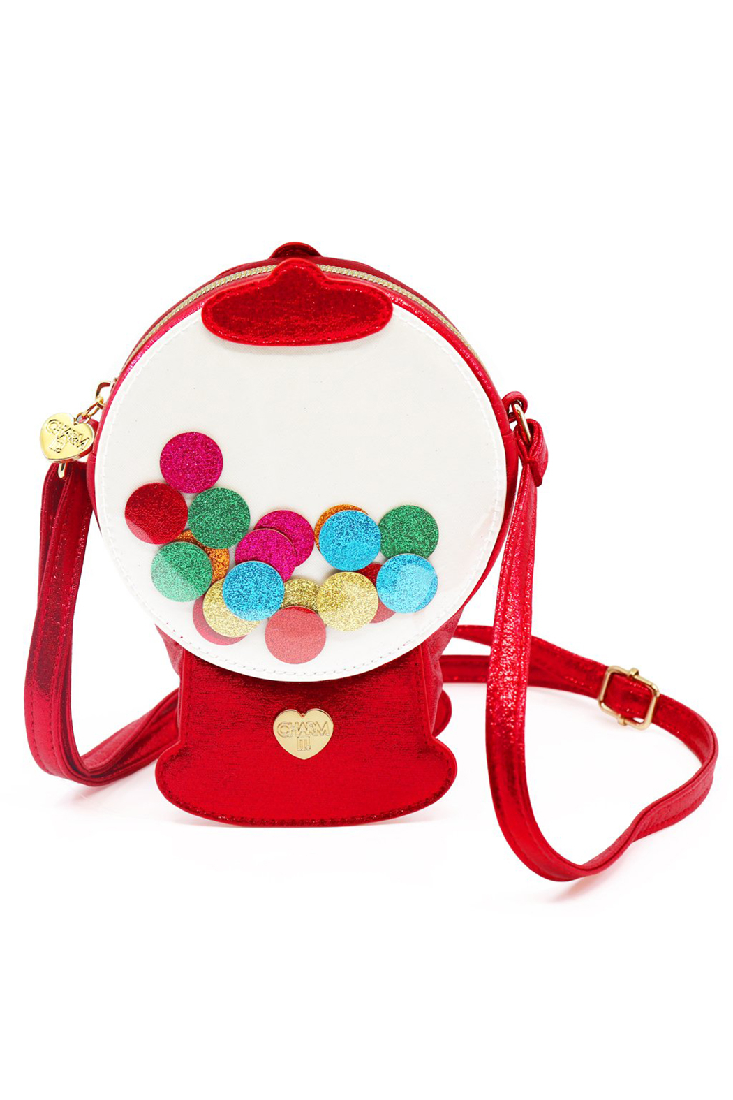 Charm It Gumball Machine Charm Bag - Front Cropped Image