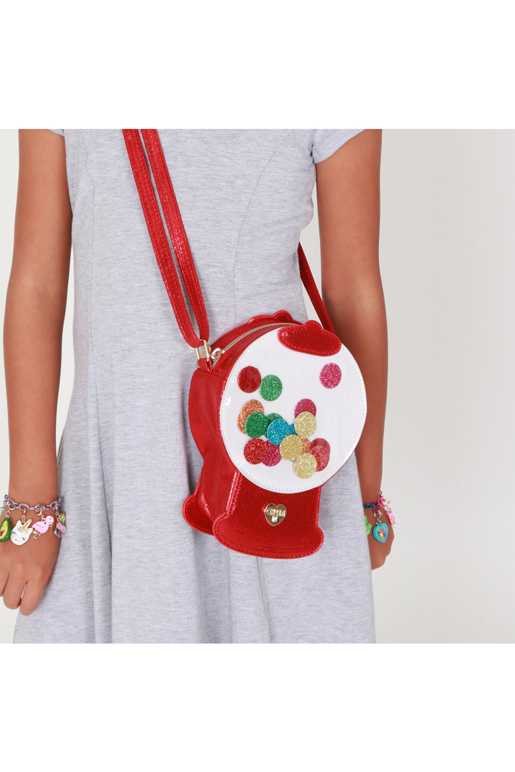 Charm It Gumball Machine Charm Bag - Front Full Image