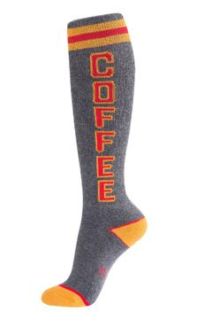 Gumball Poodle Coffee Socks - Alternate List Image