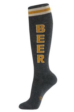 Gumball Poodle Grey Beer Socks - Alternate List Image