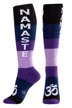 Gumball Poodle Namaste Socks - Alternate List Image