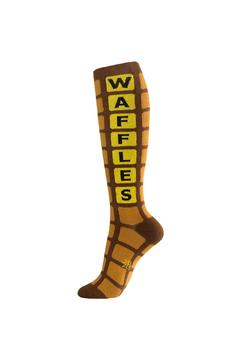 Gumball Poodle Waffle Socks - Alternate List Image