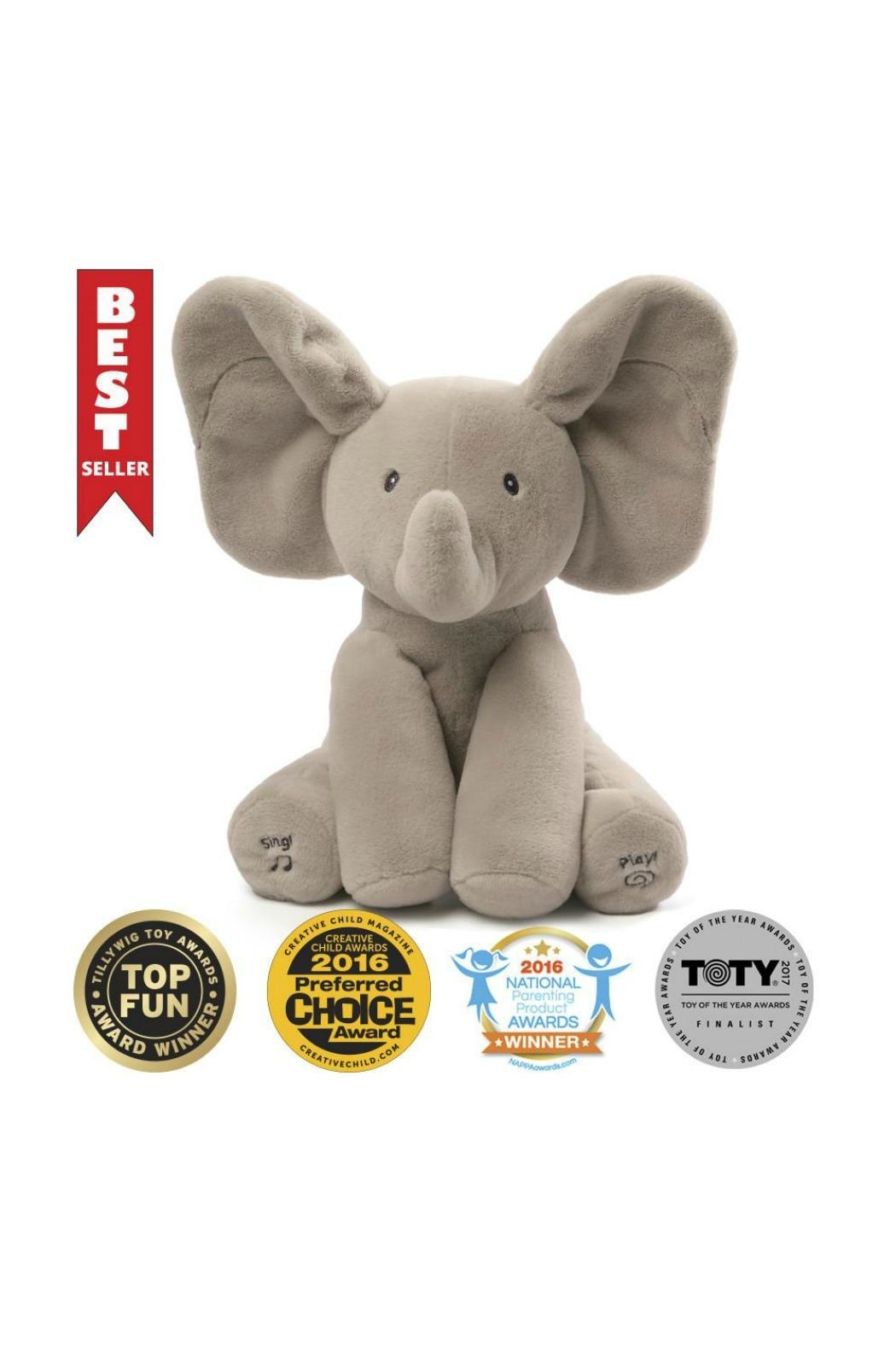 Gund Flappy The Elephant - Back Cropped Image