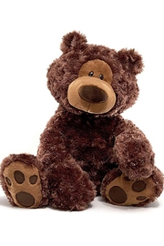 Gund Chocolate Philbin Bear - Front cropped