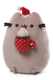 Gund Pusheen Christmas Snackable - Front cropped