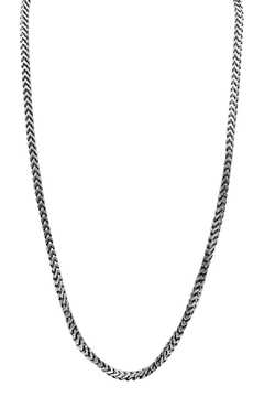 Made It! Gunmetal Hexagon Necklace - Alternate List Image