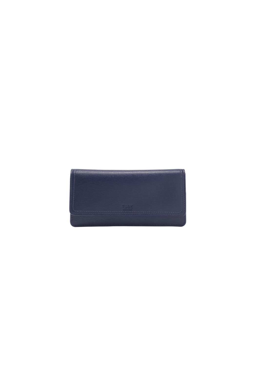 tusk Gusseted Clutch Wallet - Front Cropped Image