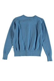 Molo Gwenda Blue Cardigan - Front full body