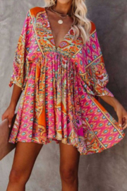 Tracie's Gwenyth Mini Dress - Front cropped