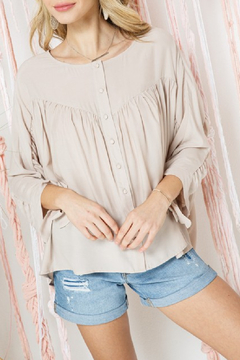 Cozy Casual Gwyneth Blouse - Product List Image