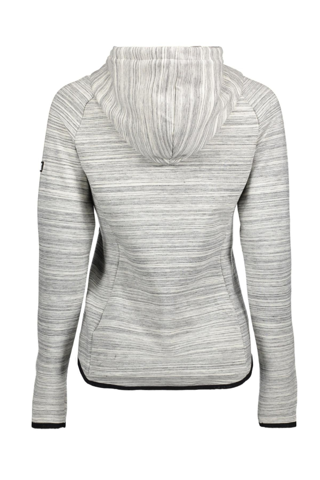 Superdry Gymtech Luxe Ziphood - Front Full Image