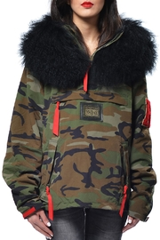 Gypsetters Anorak Fur Collar - Front cropped