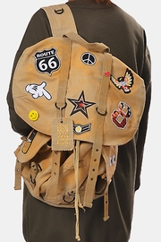 Gypsetters Backpack Embellished - Front cropped