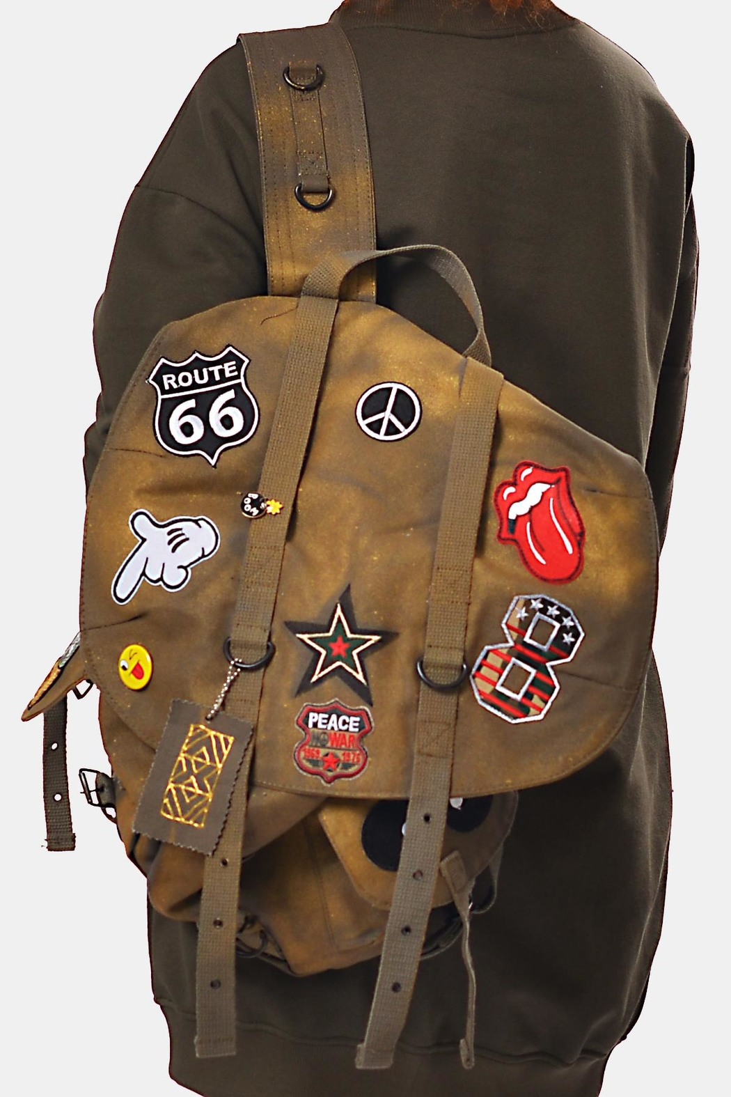 Gypsetters Backpack Embellished - Front Cropped Image