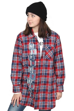 Gypsetters Blouse Tartan - Product List Image