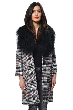 Gypsetters Coat Houndstooth - Product List Image