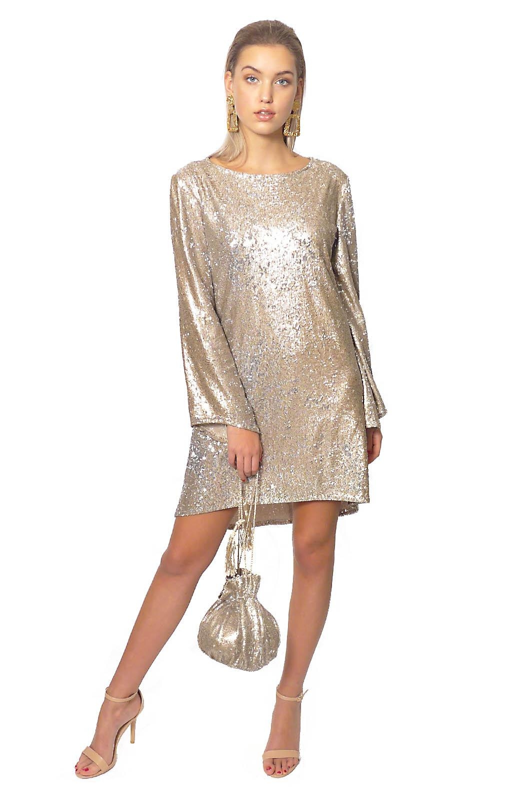 Gypsetters Dress A-Line Sequin - Main Image