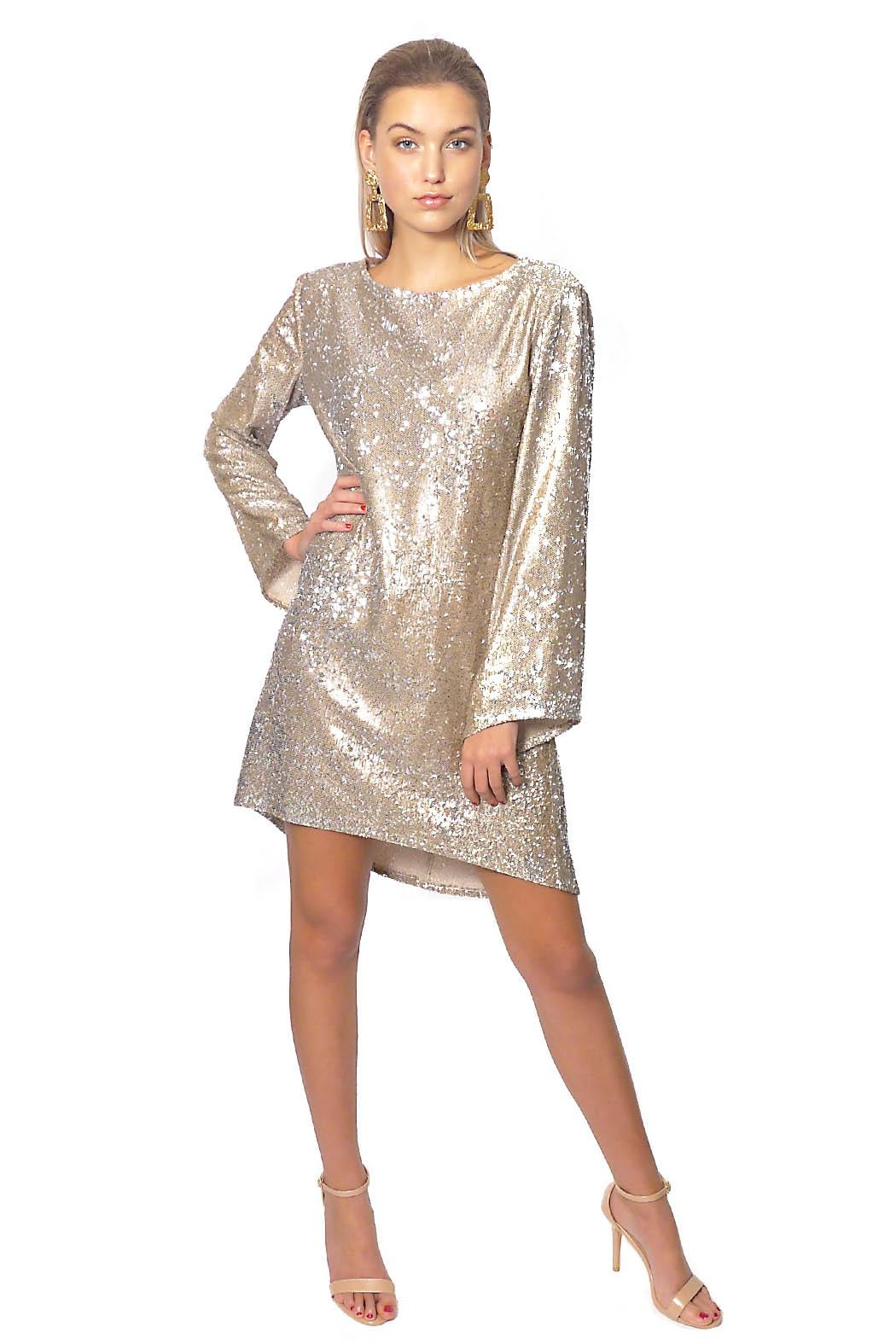 Gypsetters Dress A-Line Sequin - Front Full Image