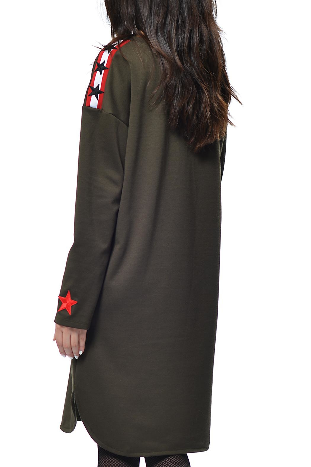 Gypsetters Dress Military - Front Full Image
