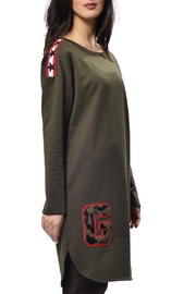 Gypsetters Dress Military - Front cropped