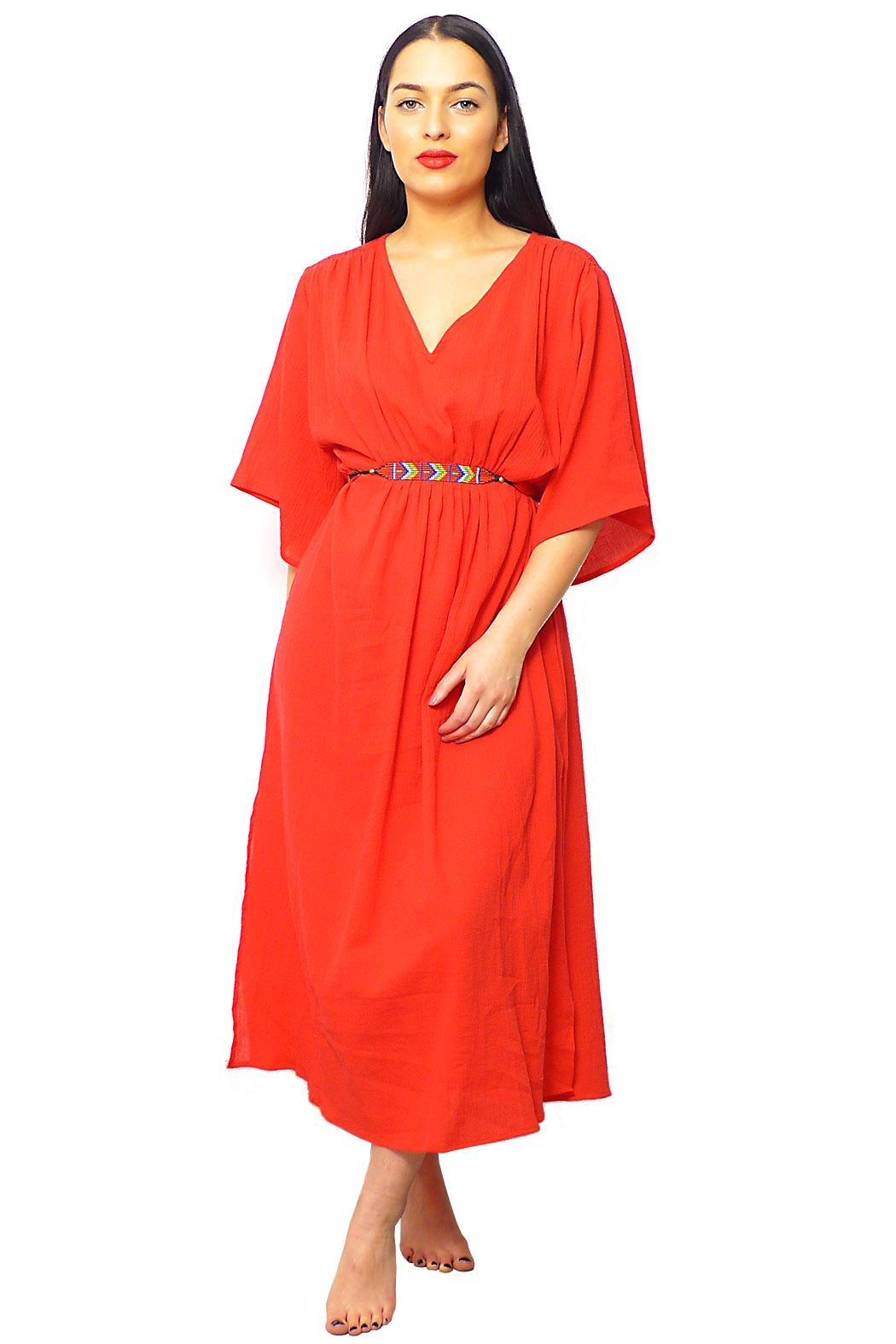 Gypsetters Dress Sunset - Side Cropped Image
