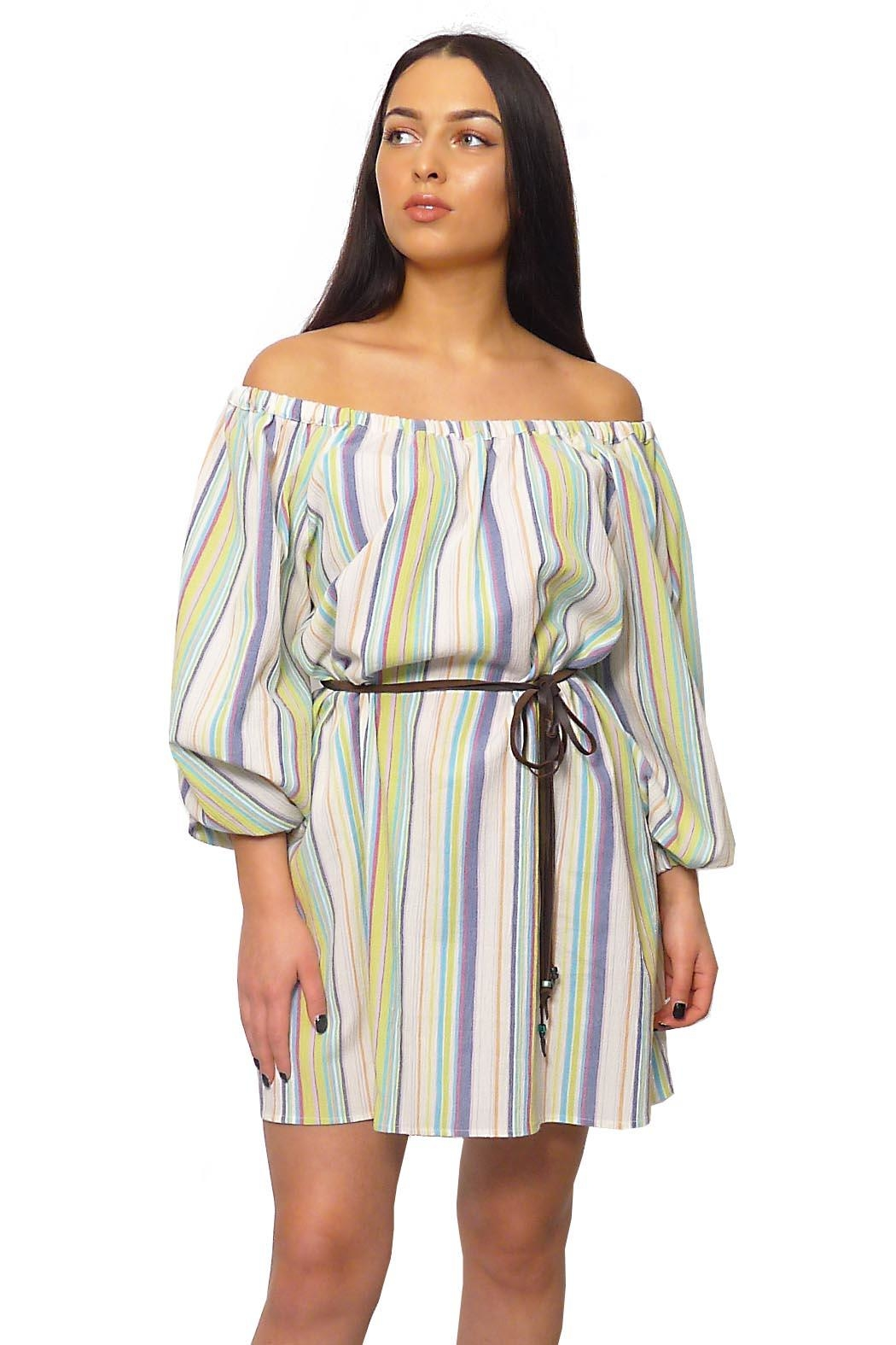 Gypsetters Dress Tropicana - Front Full Image