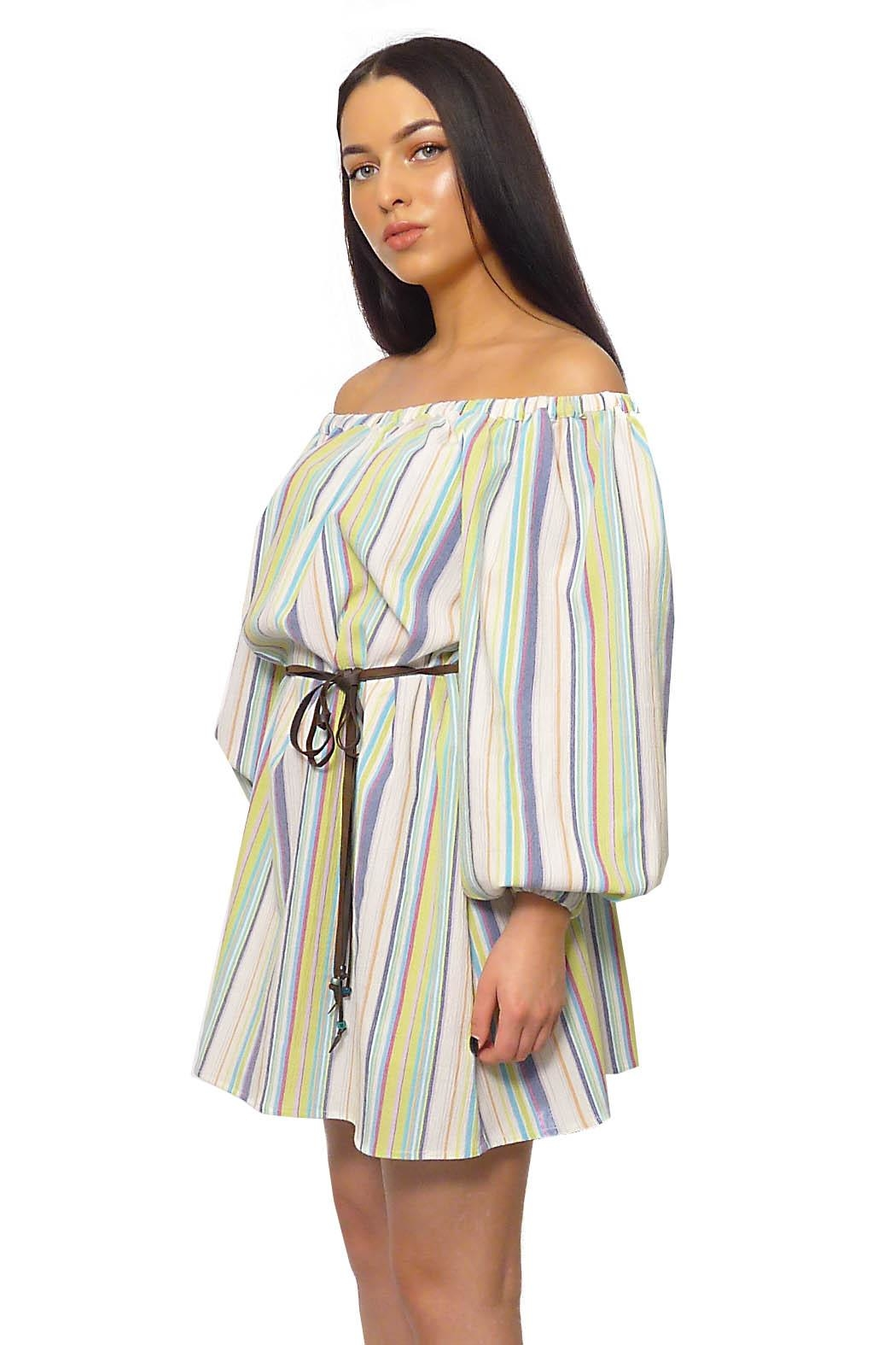 Gypsetters Dress Tropicana - Side Cropped Image
