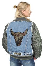 Gypsetters Jacket Bomber Bull - Product Mini Image