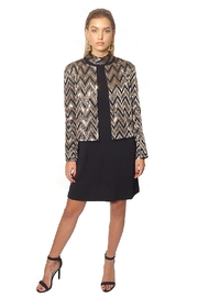 Gypsetters Jacket Chevron - Front cropped