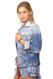 Gypsetters Jacket Denim Graffiti - Product Mini Image