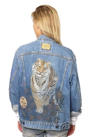 Gypsetters Jacket Denim Tiger - Product Mini Image
