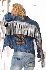 Gypsetters Jacket Dragon Fringe - Product Mini Image