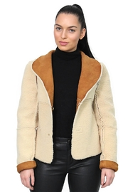 Gypsetters Jacket Lammy Reversible - Front cropped