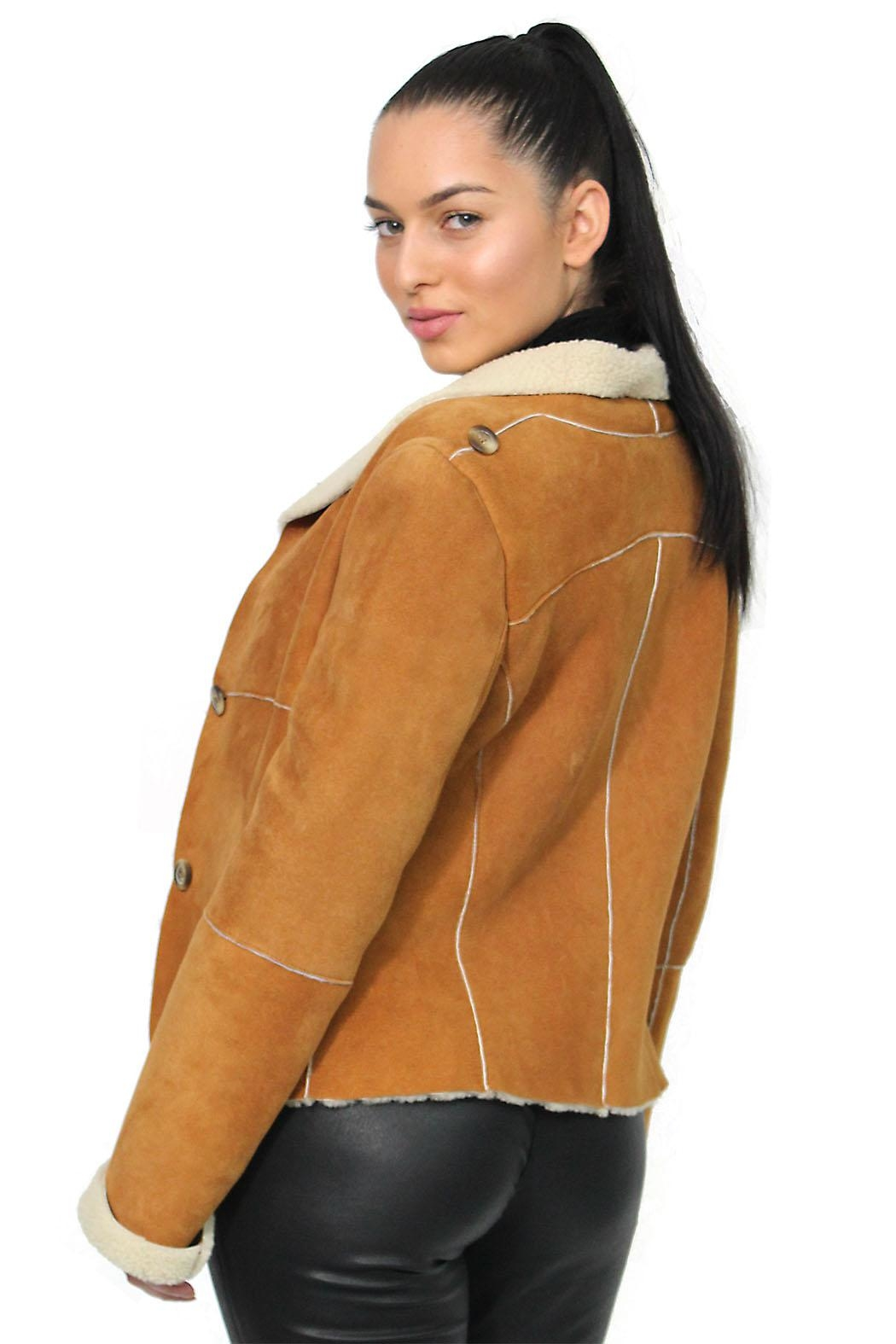Gypsetters Jacket Lammy Reversible - Front Full Image