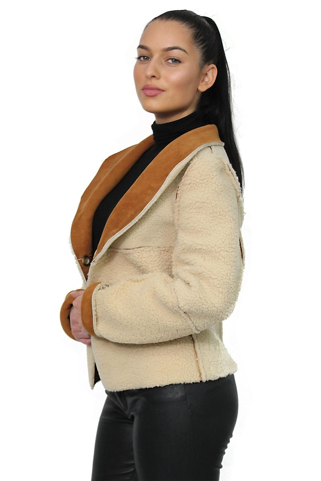 Gypsetters Jacket Lammy Reversible - Side Cropped Image