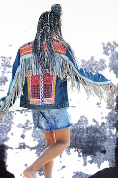 Gypsetters Jacket Leather Fringe - Alternate List Image