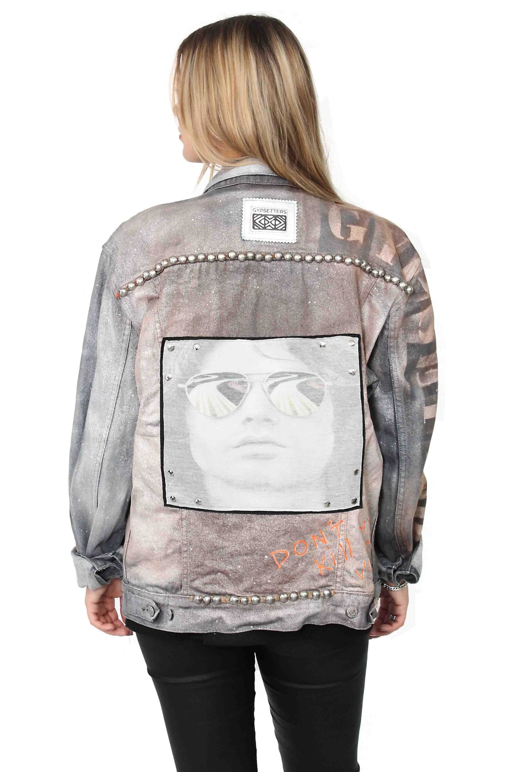Gypsetters Jacket Rockstar - Front Cropped Image