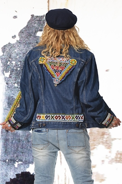 Gypsetters Jacket Tribal Embellished - Alternate List Image