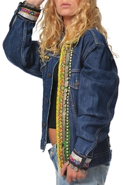 Gypsetters Tribal Embellished Jacket - Front full body