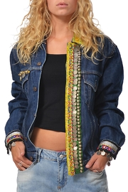 Gypsetters Tribal Embellished Jacket - Product Mini Image