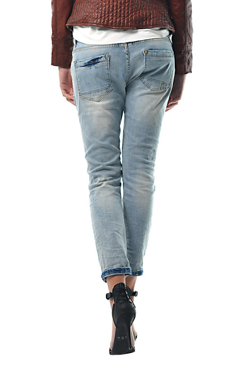 Gypsetters Embellished Jeans - Front Full Image
