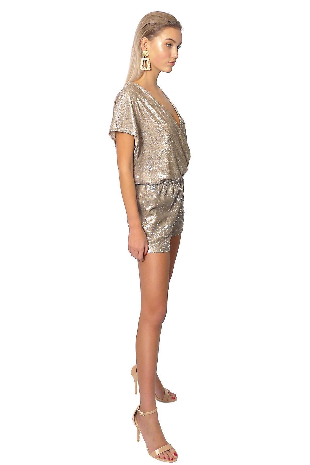 Gypsetters Jumpsuit Sequin - Front Full Image