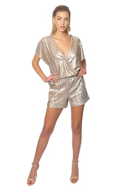 Gypsetters Jumpsuit Sequin - Front cropped