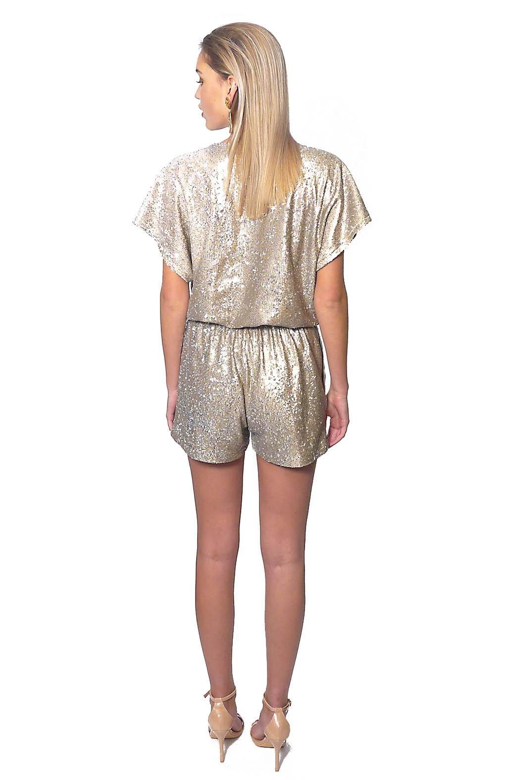 Gypsetters Jumpsuit Sequin - Side Cropped Image