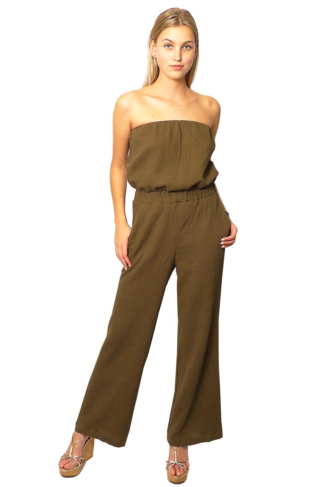 Gypsetters Jumpsuit Strapless - Main Image