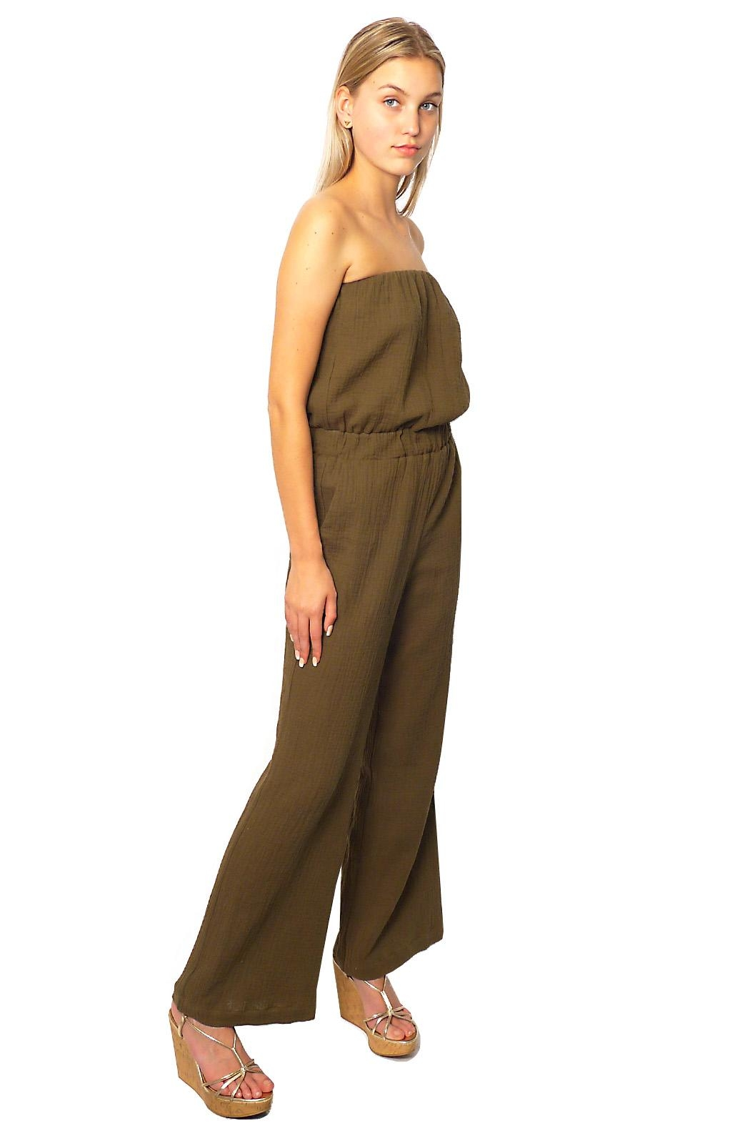 Gypsetters Jumpsuit Strapless - Front Full Image