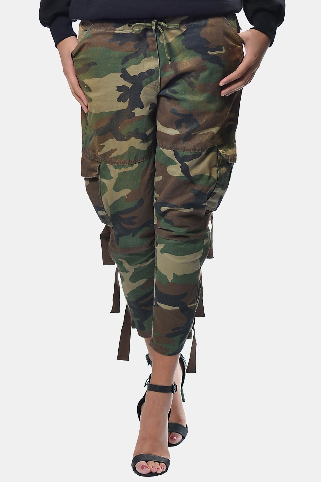 Gypsetters Pants Cargo - Side Cropped Image