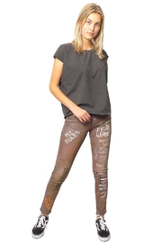 Gypsetters Pants Denim Graffiti - Product Mini Image
