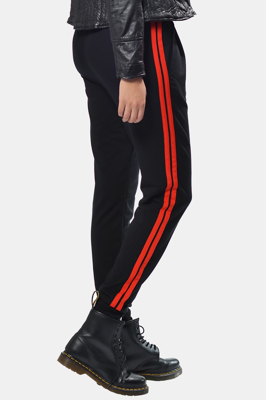 Gypsetters Pants Red Stripes - Main Image